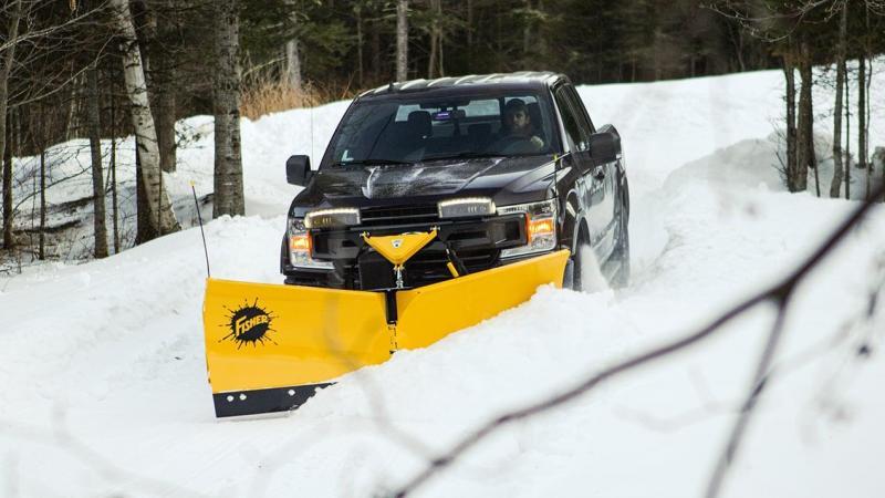 2021 Fisher Engineering EZ-V Snow Plow