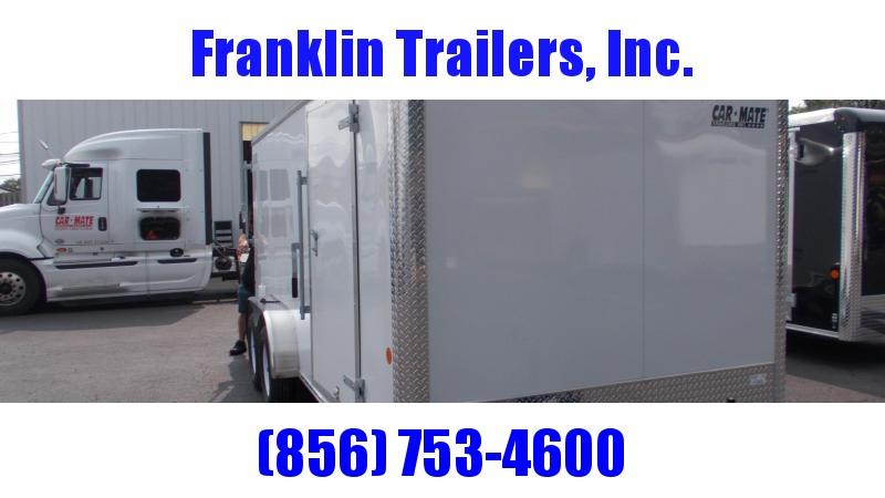 2021 Car Mate Trailers 7 X 16 Tandem Axle Custom Cargo Trailer Enclosed Cargo Trailer 2022857