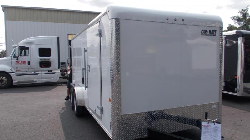 2021 Car Mate Trailers 7 X 16 Enclosed Cargo Trailer 2022857