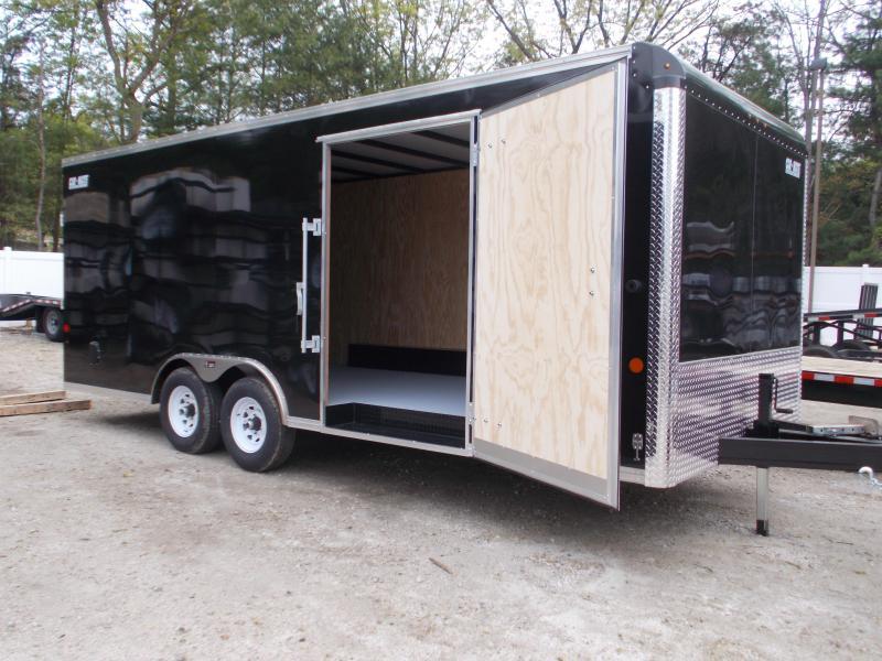 2021 Car Mate 8.5x20 Enclosed Landscaper Trailer 2024170