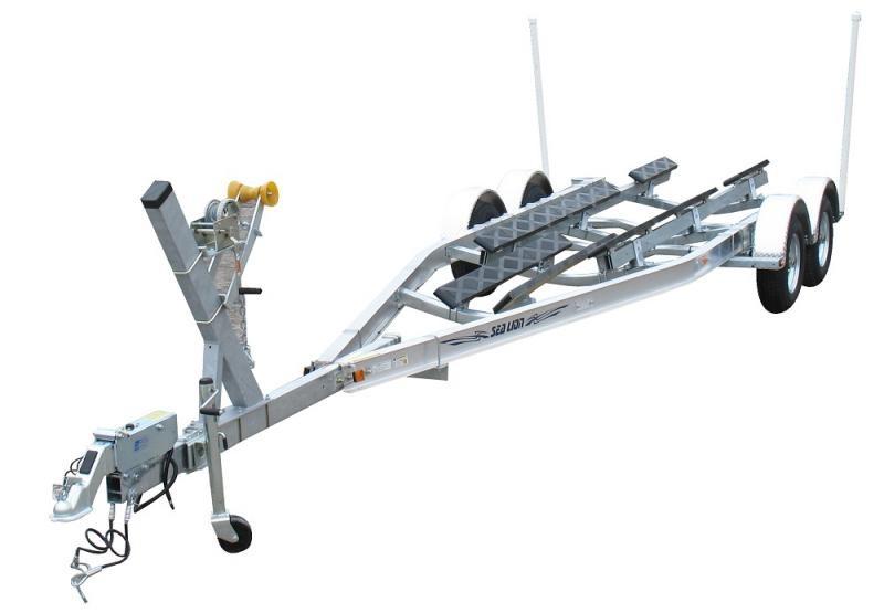2021 Sealion Aluminum SA-25T- 6300 Torsion Axle Boat Trailer 2024366