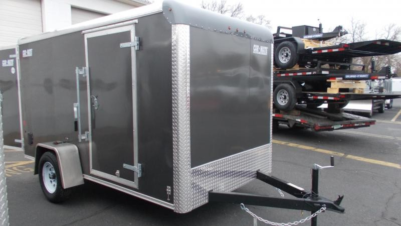 2021 Car Mate 6x12 Enclosed Cargo Trailer 2023402