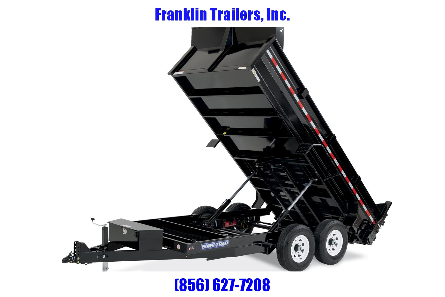 2020 Sure-Trac 82 IN X 16 LP 14K Dual Ram Dump  STOCK# 2022250
