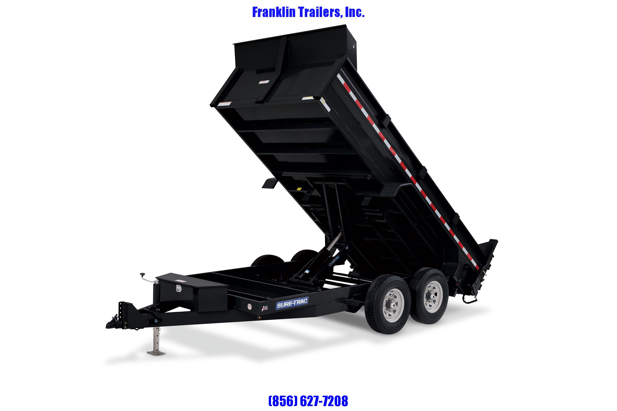 2020 Sure-Trac 82 IN X 16 LProfile 16K Scissor Dump 2021582