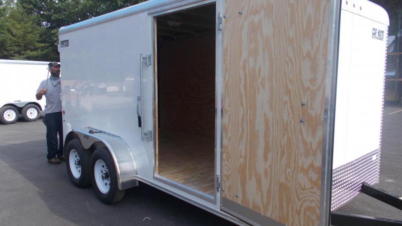 2020 Car Mate 7X14 Tandem Axle Enclosed Cargo Trailer 2022447