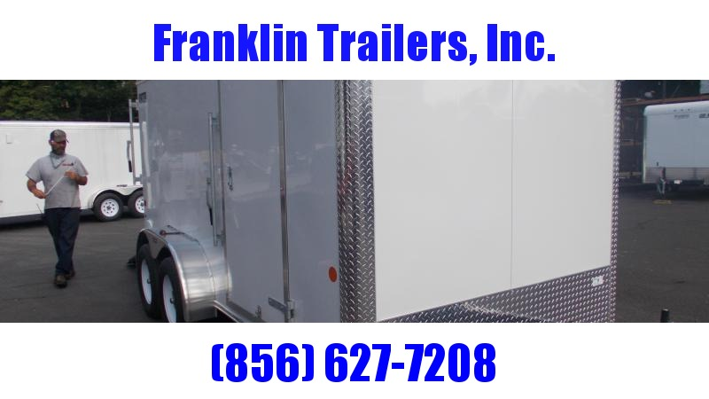 2020 Car Mate 7X14 Tandem Axle Enclosed Cargo Trailer 2022447