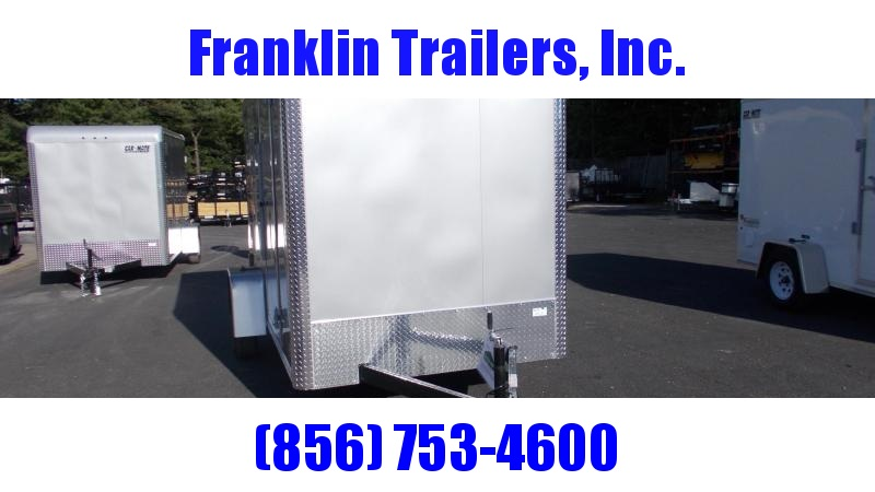 "2020 Car Mate 6 X 12 Enclosed Cargo Trailer W/ 6"" Add Height 2022431"