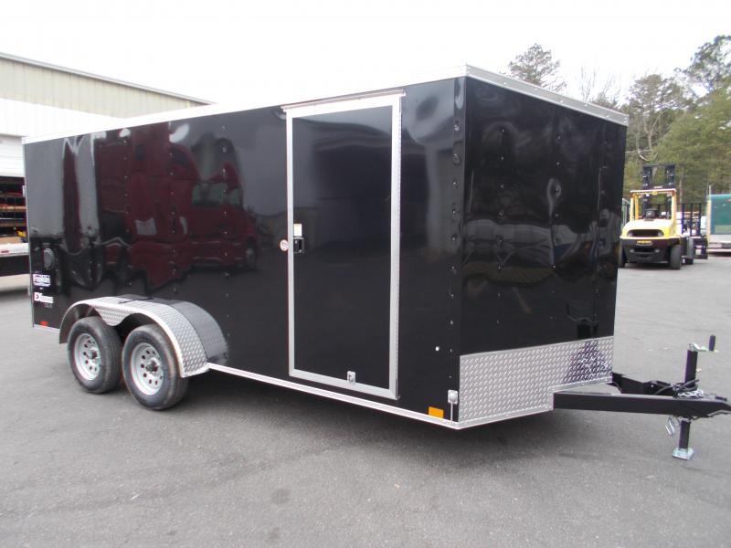 2022 Cargo Express 7x16 V-Nose  Cargo / Enclosed Trailer 2023965