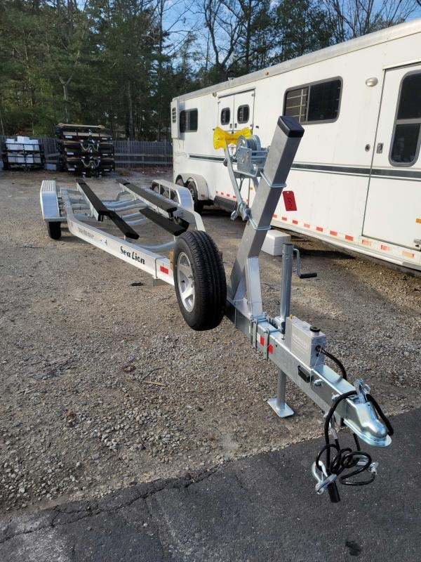2021 Sealion Aluminum Boat Trailer SA-30TR- 10400 Tri-Torsion Axle Trailer 2023306