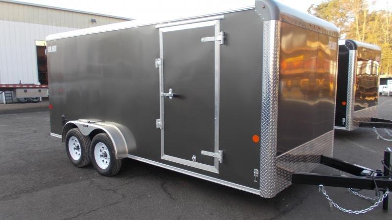 2021 Car-Mate 7X16 Enclosed Cargo Trailer 2023453