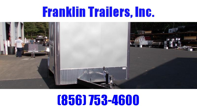 "2020 Car Mate 7 X 16 Cargo Trailer W/ 6"" Add Height  2022312"
