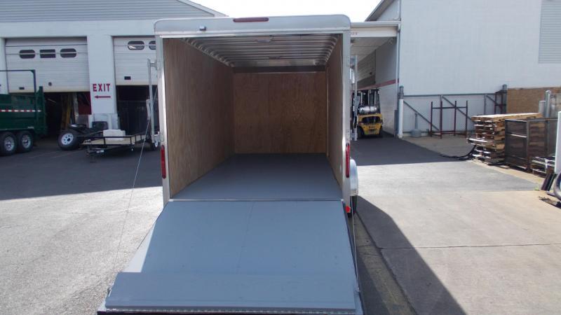 "2020 Car Mate 7 X 16 Cargo Trailer W/ 6"" Add Height  2022312"