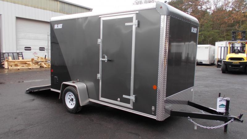 "2021 Car Mate Trailers 6x12 Cargo Trailer with 6"" addt'l Height 2023188"