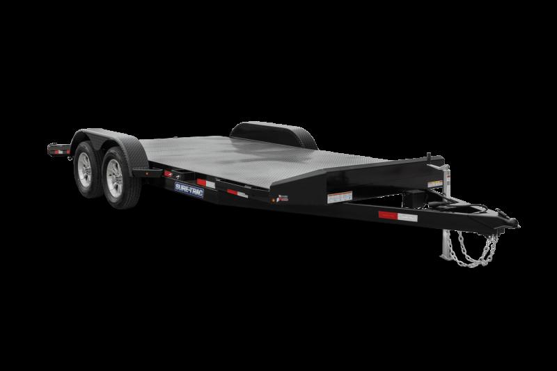 2021 Sure-Trac 7x18 7K Car / Racing Trailer 2024868