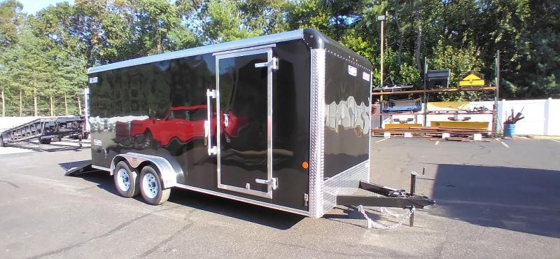 """2021 Car Mate 7x18 Enclosed Cargo Trailer with 6"""" Addt'l Height 2024715"""