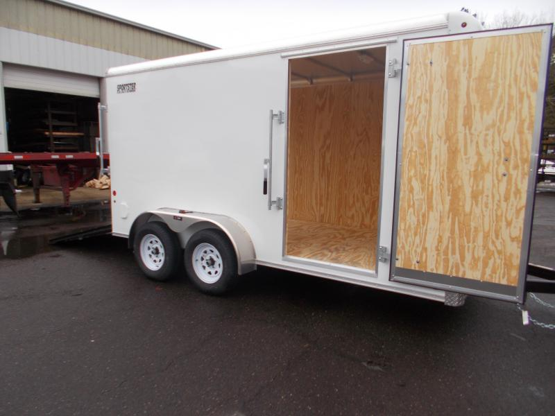 "2021 Car Mate 7x14 Enclosed Cargo Trailer with 6"" Addt'l Height 2023597"