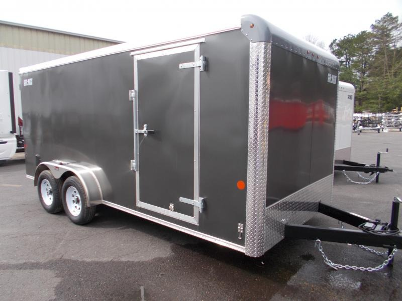 2021 Car Mate 7x16 Enclosed Cargo Trailer 2023960