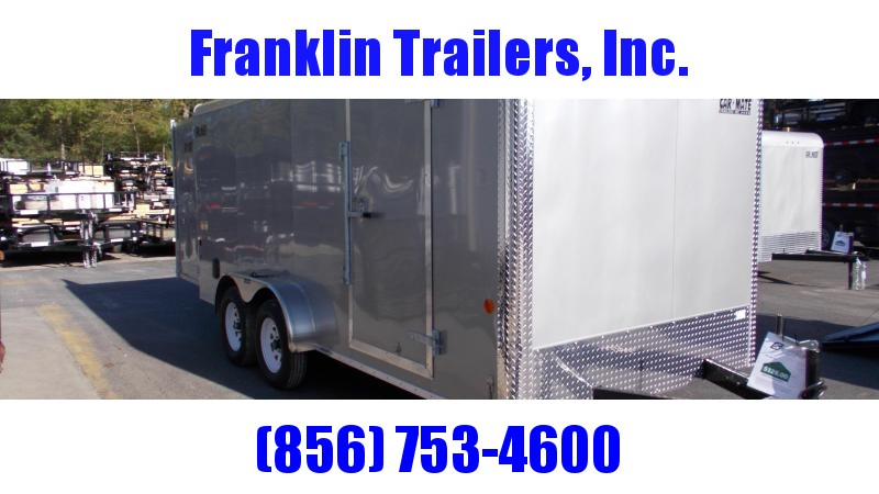 2020 Car Mate 7X16 Enclosed Cargo Trailer 2022240