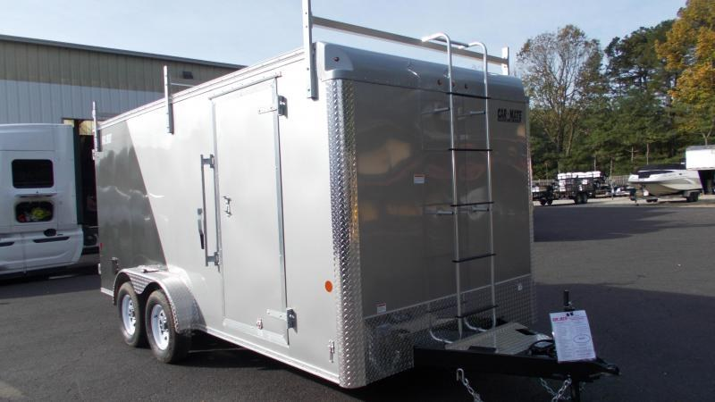 2021 Car Mate 7x16 Contractor Trailer 2023133