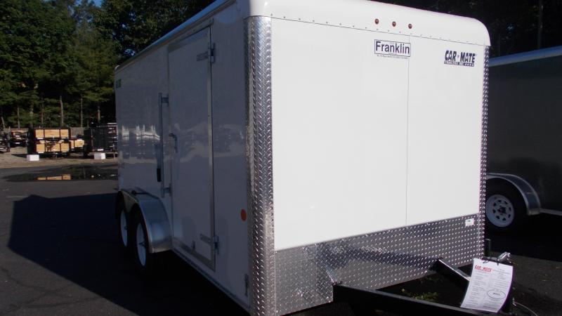 2020 Car Mate  7X14 Enclosed Cargo Trailer 2022489