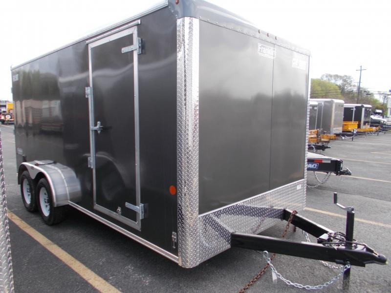 "2021 Car Mate 7x16 7k With 6"" Addt'l Height Enclosed Cargo Trailer 2024064"