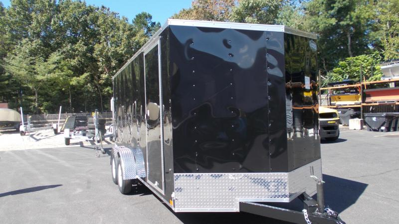 "2021 Cargo Express 7 X 16 Enclosed Cargo Trailer w/ 6"" Additional Height 2022895"