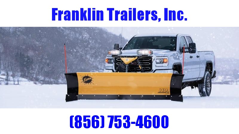 2019 Fisher Engineering HD2 Snow Plow