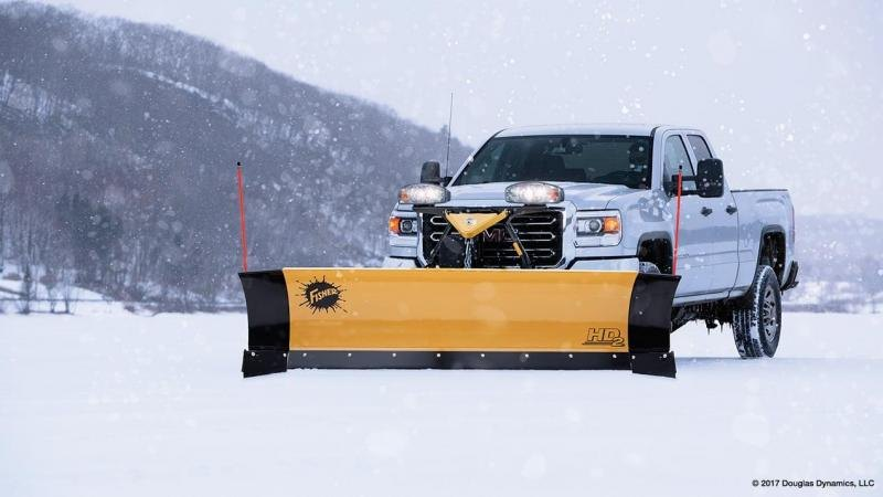 2021 Fisher Engineering HD2 Snow Plow