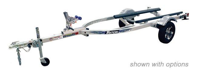 2021 Triton Trailers LTWCI-TX Aluminum Single Watercraft Trailer 2023067
