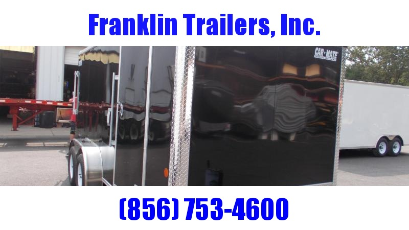 "2021 Car Mate Trailers 7 X 16 Tandem Axle Enclosed Cargo Trailer W/ 6"" Additional Height 2022858"