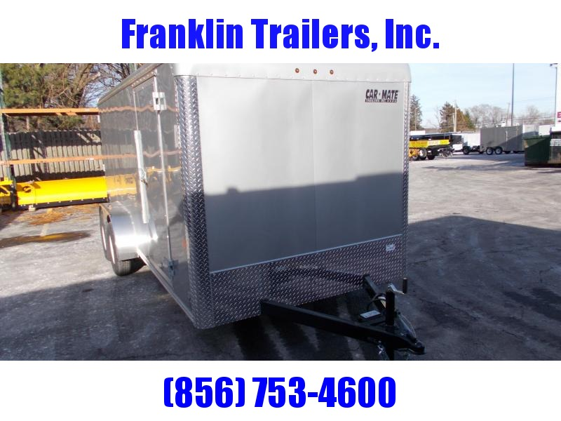 2020 Car Mate 7X16 Tandem Axle Enclosed Cargo Trailer 2021366