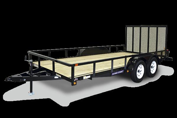 2021 Sure-Trac 7x20 10K Utility Trailer 2024217
