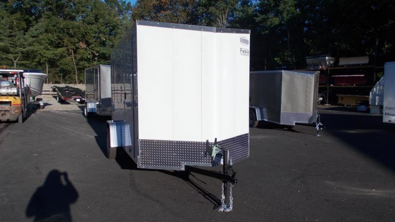 """2021 Cargo Express 6 X 12 Enclosed Cargo Trailer w/ 6"""" Additional Height 2022887"""
