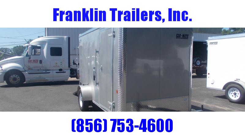 2021 Car Mate Trailers E612CM1E-6 Enclosed Cargo Trailer 2022576