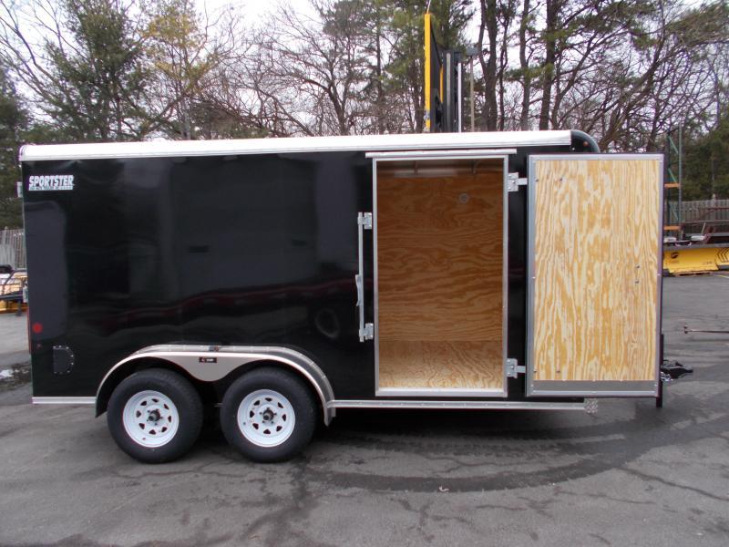 2020 Car Mate 7X14 Tandem Axle Enclosed Cargo Trailer 2021463