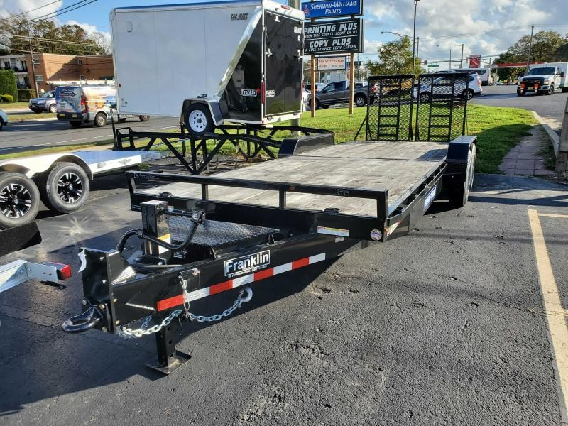 2021 Sure-Trac 7 x 22 Equipment Trailer 16K 2022595