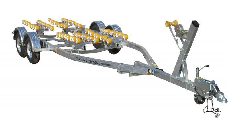 2021 Sealion SE-24T-5400BE Tandem Spring Axle Boat Trailer 2024286
