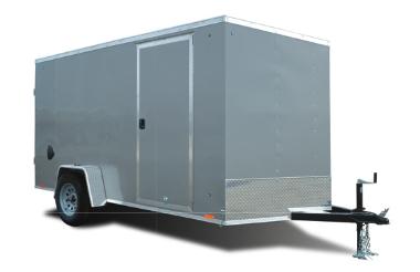 2021 Cargo Express 5x8 With Ramp Door Enclosed Cargo Trailer 2024047