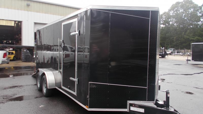 2021 Lark 7x16 V-Nose Enclosed Cargo Trailer 2022861
