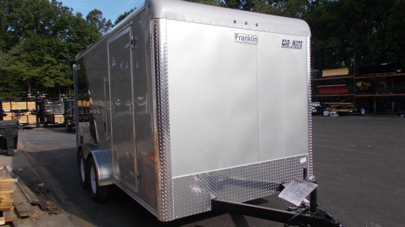 "2020 Car Mate  7X14 Enclosed Cargo Trailer w/ 6"" additional height 2022417"