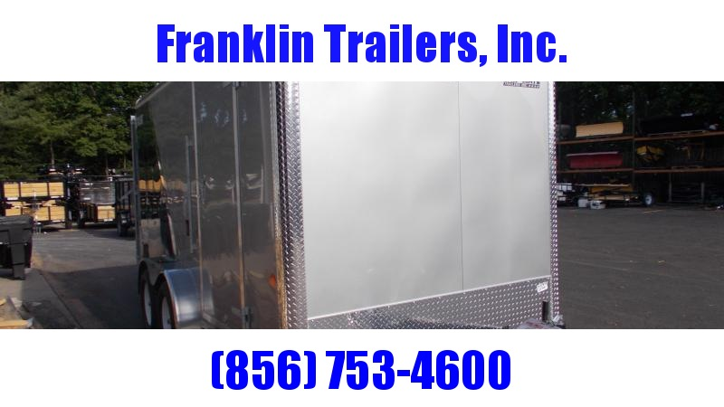 """2020 Car Mate  7X14 Enclosed Cargo Trailer w/ 6"""" additional height 2022417"""