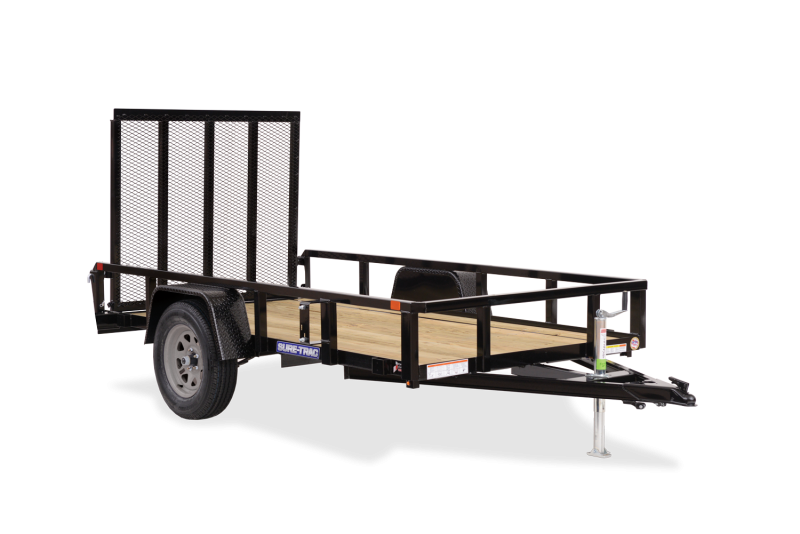 2021 Sure-Trac 6x10 Tube Top Utility Trailer 2024224