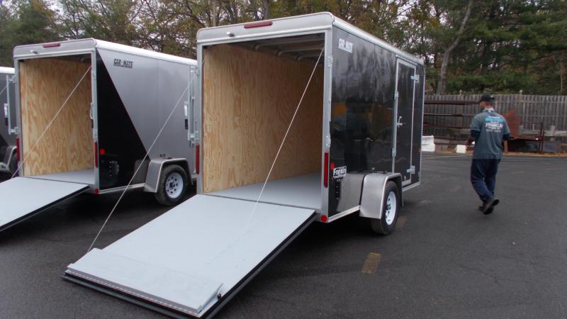 "2021 Car Mate Trailers 6x12 Cargo Trailer with 6"" addt'l Height 2023186"
