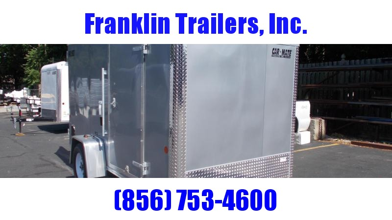 2020 Car Mate 6X12 Enclosed Cargo Trailer 2022439
