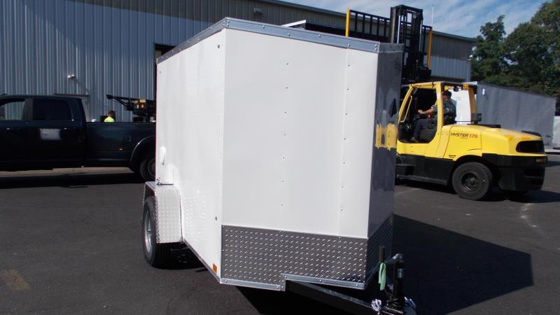 2021 Cargo Express 5X8 V-NOSE Enclosed Cargo Trailer 2022476