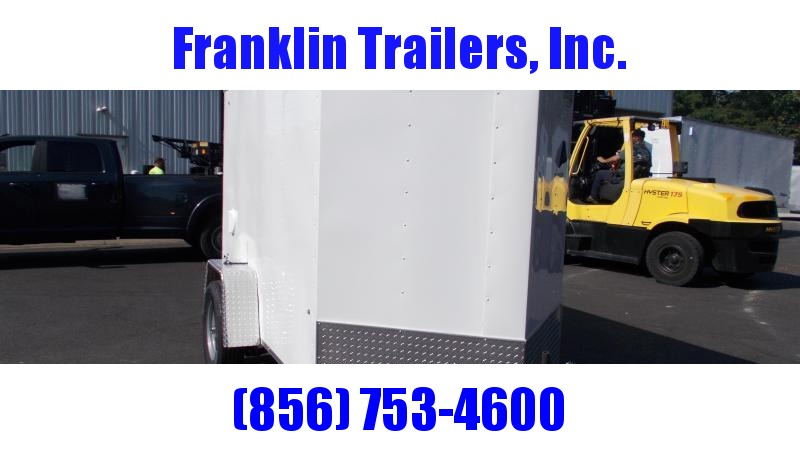 2021 Cargo Express 5X8 V-NOSE Enclosed Cargo Trailer 2022483