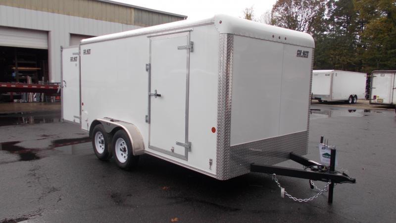 2021 Car Mate Trailers 7x14 Enclosed Cargo Trailer 2023077