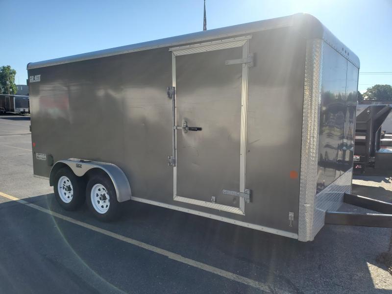 2019 Car Mate Used 7x16 7k Enclosed Cargo Trailer 2024369