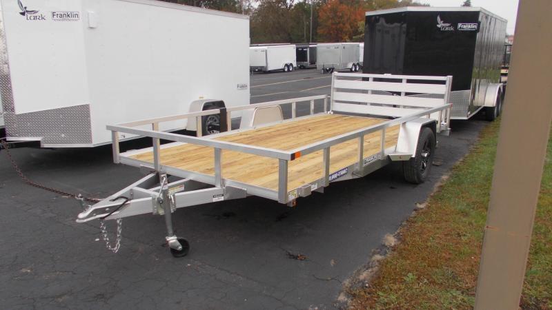 2021 Sure-Trac 7x14 Aluminum Utility Trailer 2023033