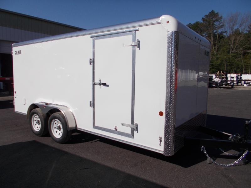 2021 Car Mate 7x16 Enclosed Cargo Trailer 2023986